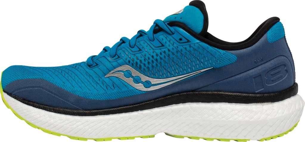 Men's Saucony Triumph 18 Running Sneaker, Cobalt/Storm, large, image 3