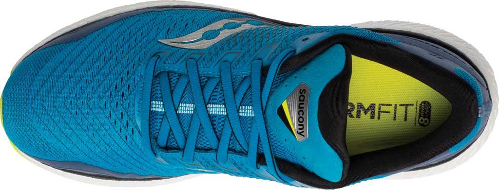 Men's Saucony Triumph 18 Running Sneaker, Cobalt/Storm, large, image 4