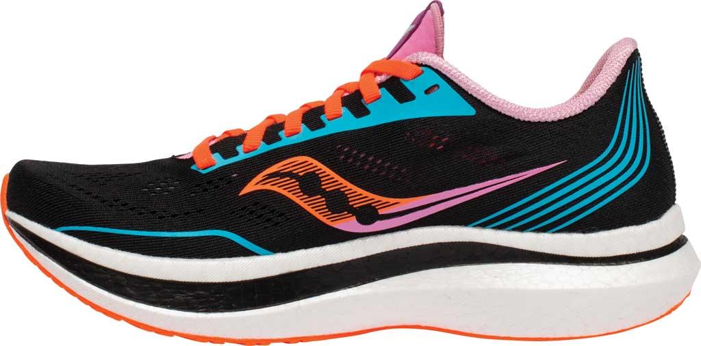 Women's Saucony Endorphin Pro Running Sneaker, Future/Black, large, image 3