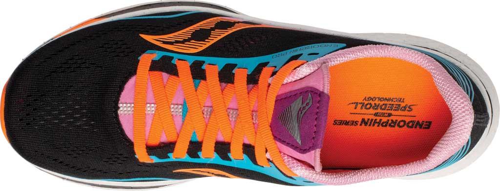 Women's Saucony Endorphin Pro Running Sneaker, Future/Black, large, image 4