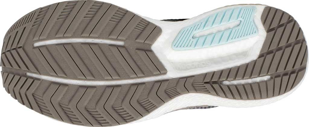 Women's Saucony Triumph 18 Running Sneaker, Charcoal/Sky, large, image 5