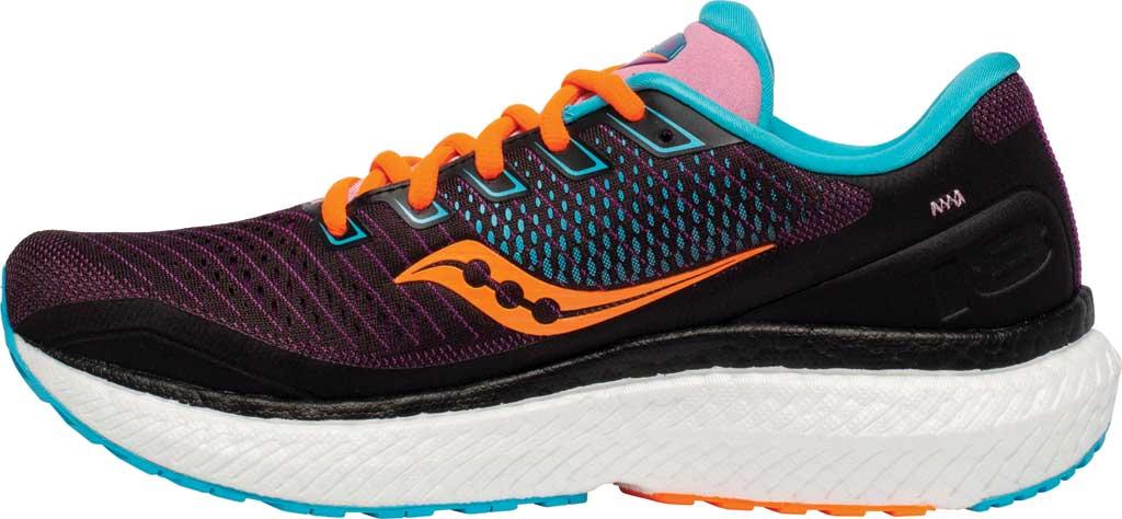 Women's Saucony Triumph 18 Running Sneaker, Future/Black, large, image 3