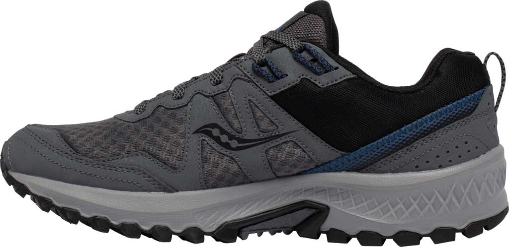 Men's Saucony Excursion TR14 GORE-TEX Trail Running Sneaker, Charcoal/Storm, large, image 3