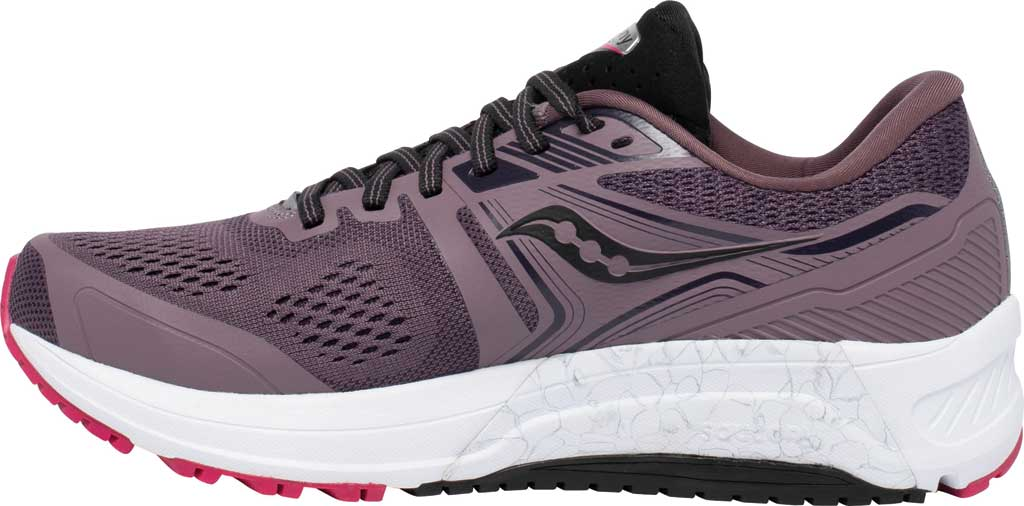 Women's Saucony Omni 19 Running Sneaker, Dusk/Berry, large, image 3