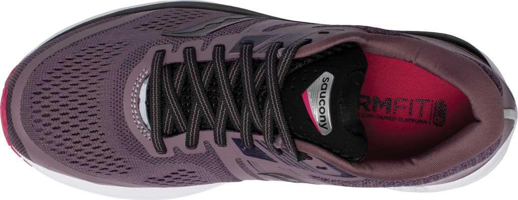 Women's Saucony Omni 19 Running Sneaker, Dusk/Berry, large, image 4