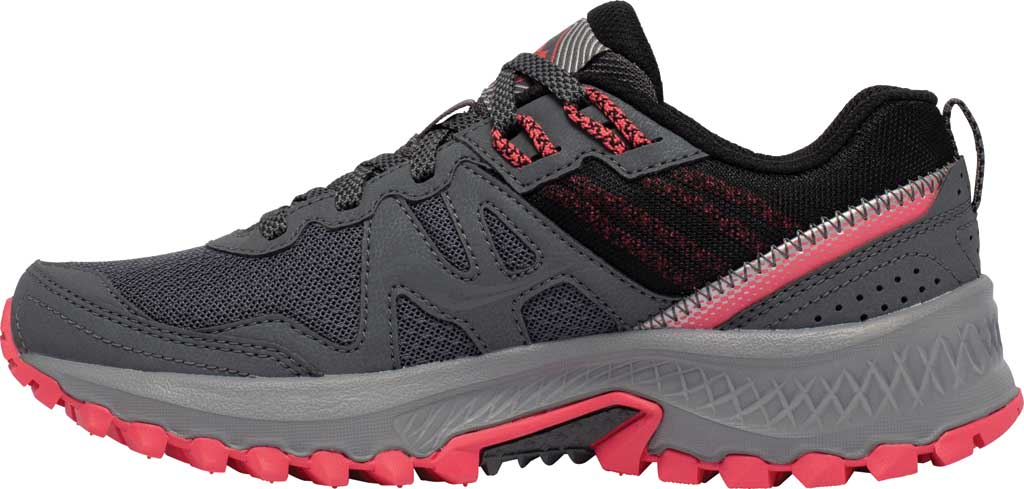 Women's Saucony Excursion TR14 Trail Running Sneaker, Charcoal/Coral, large, image 3