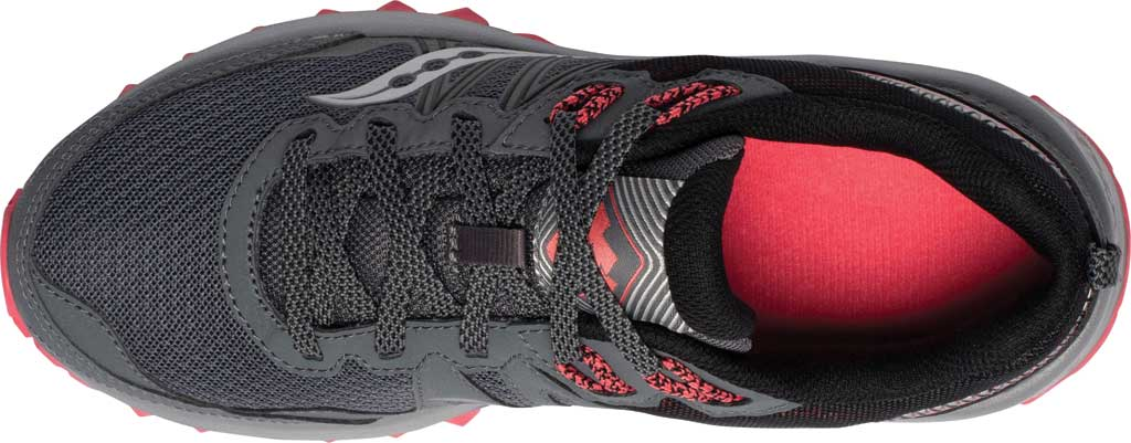 Women's Saucony Excursion TR14 Trail Running Sneaker, Charcoal/Coral, large, image 4