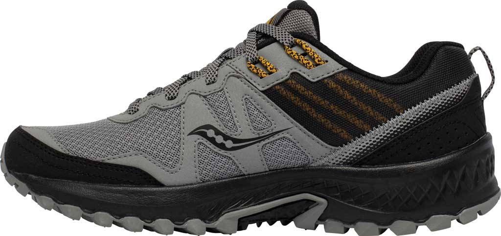 Men's Saucony Excursion TR14 Trail Running Sneaker, Grey/Gold, large, image 3