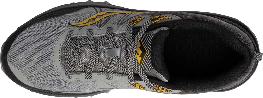 Men's Saucony Excursion TR14 Trail Running Sneaker, Grey/Gold, large, image 4