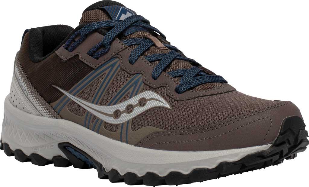 Men's Saucony Excursion TR14 Trail Running Sneaker, Gravel/Storm, large, image 1