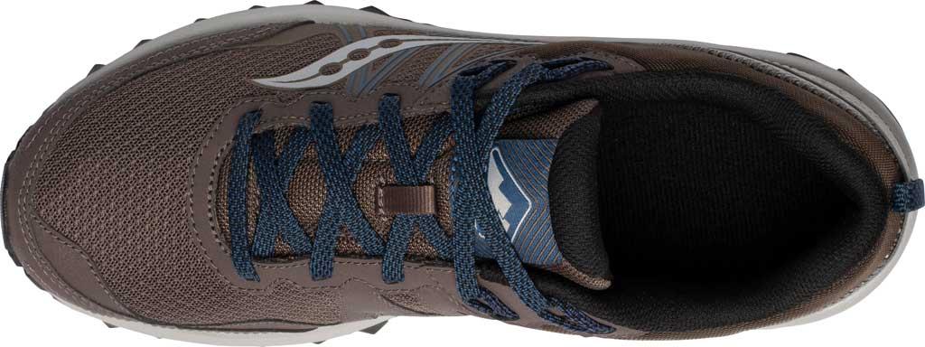 Men's Saucony Excursion TR14 Trail Running Sneaker, Gravel/Storm, large, image 4