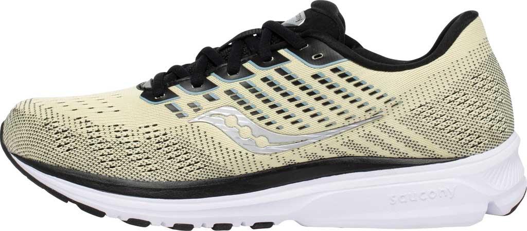 Men's Saucony Ride 13 Running Sneaker, Glade/Black, large, image 3