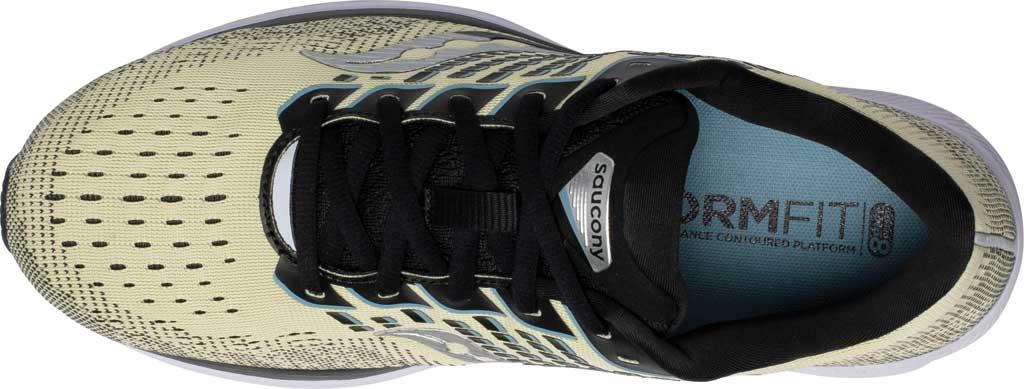 Men's Saucony Ride 13 Running Sneaker, Glade/Black, large, image 4