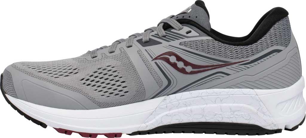 Men's Saucony Omni 19 Running Sneaker, Alloy/Brick, large, image 3