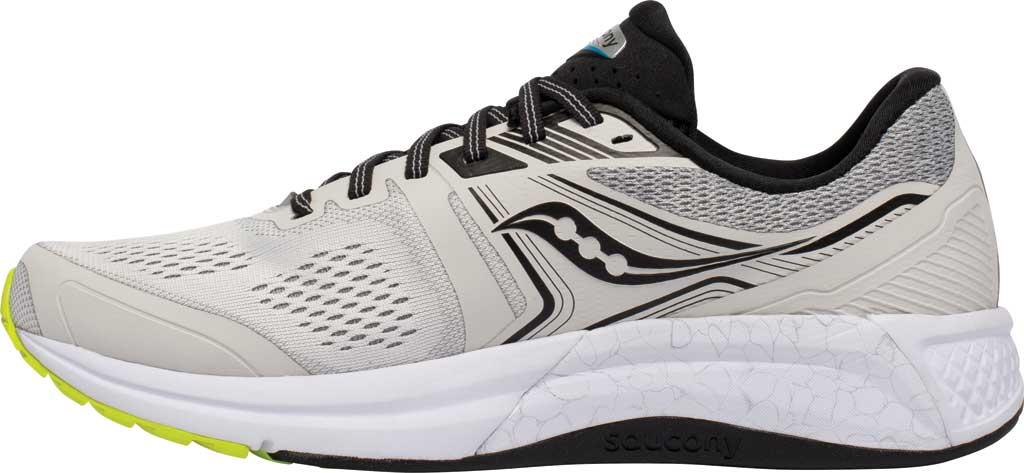 Men's Saucony Omni 19 Running Sneaker, Fog/Citrus, large, image 3