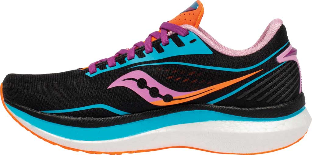 Women's Saucony Endorphin Speed Running Sneaker, Future/Black, large, image 3