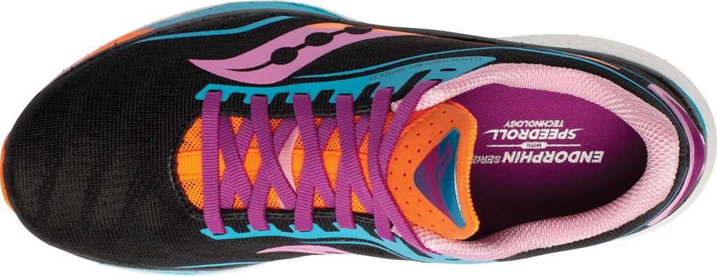 Women's Saucony Endorphin Speed Running Sneaker, Future/Black, large, image 4