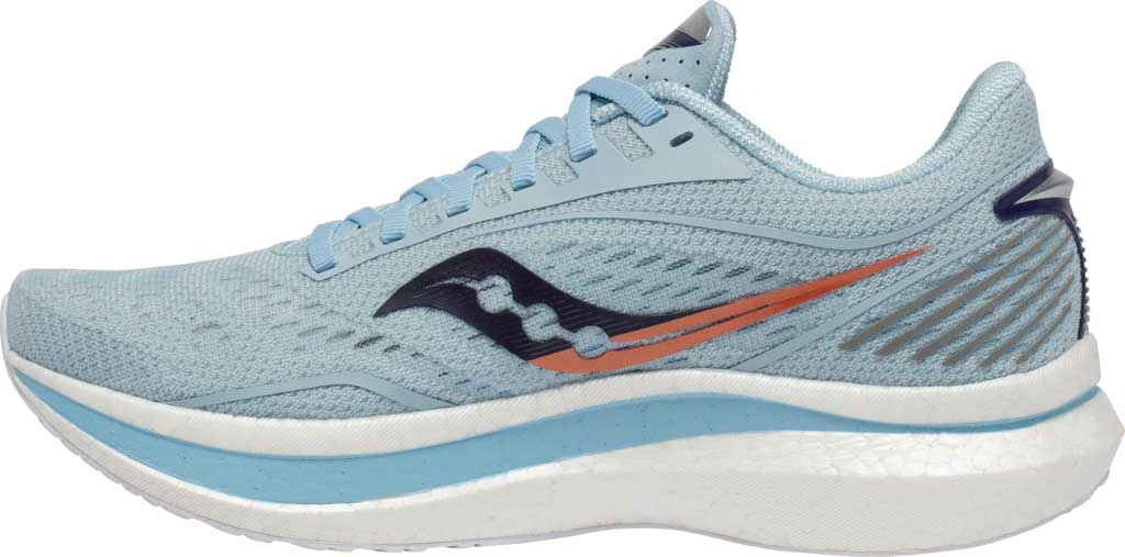 Women's Saucony Endorphin Speed Running Sneaker, Sky/Midnight, large, image 3