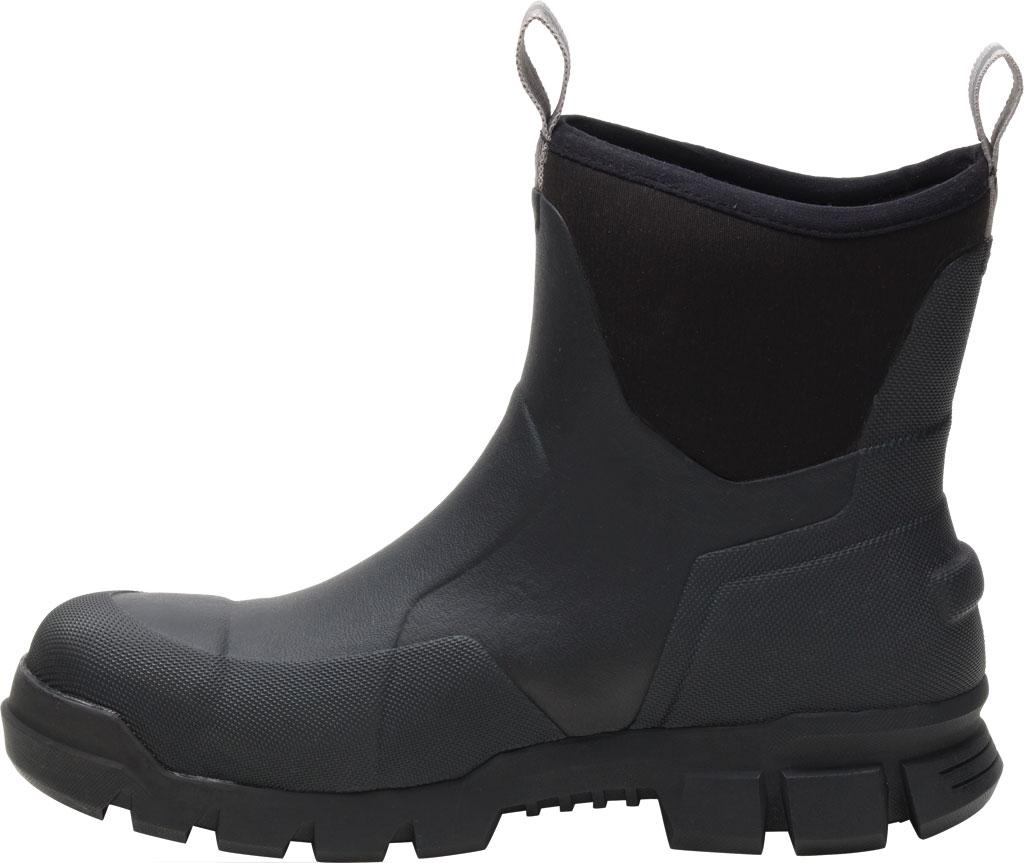 "Caterpillar Stormers 6"" Waterproof Work Boot, Black Waterproof Vulcanized Rubber, large, image 3"