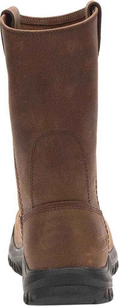 Men's Caterpillar Drawbar Steel Toe Pull On Work Boot, Summer Brown Leather, large, image 4