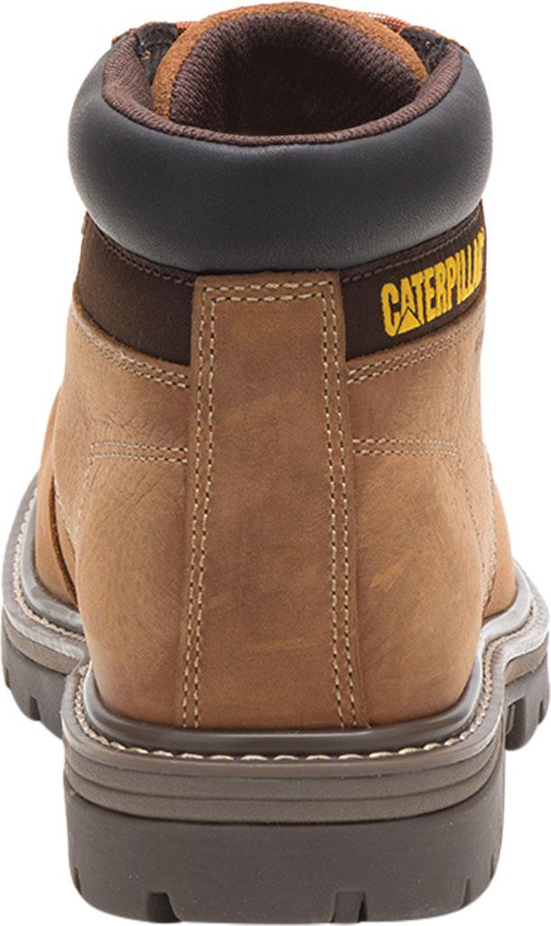 Men's Caterpillar Outbase Waterproof Work Boot, Brown Waterproof Full Grain Leather, large, image 4