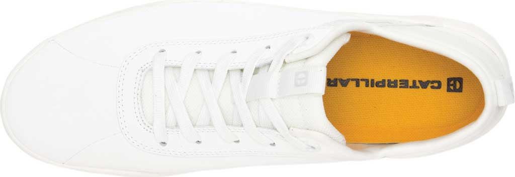 Men's Caterpillar Hex Sneaker, Star White Nubuck, large, image 5