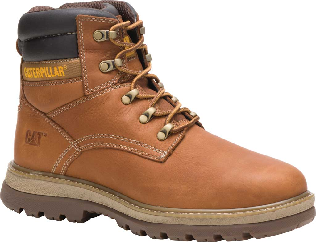 Men's Caterpillar Fairbanks Work Boot, Trail Full Grain Leather, large, image 1