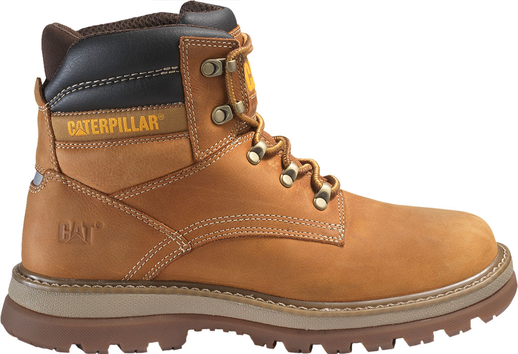 Men's Caterpillar Fairbanks Work Boot, Trail Full Grain Leather, large, image 2