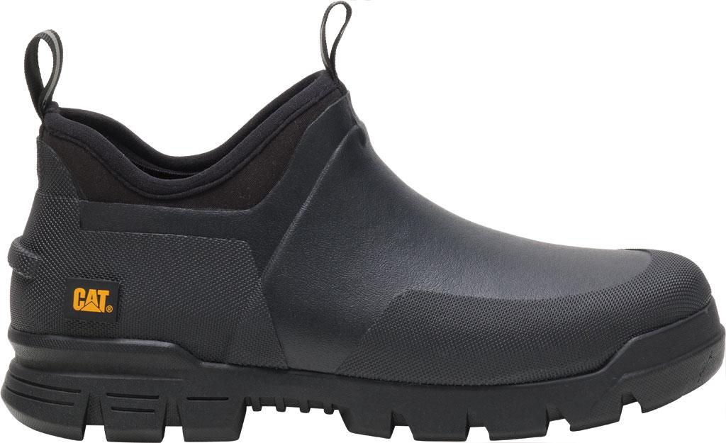Caterpillar Stormers Waterproof Work Shoe, Black/Black Waterproof Vulcanized Rubber, large, image 2
