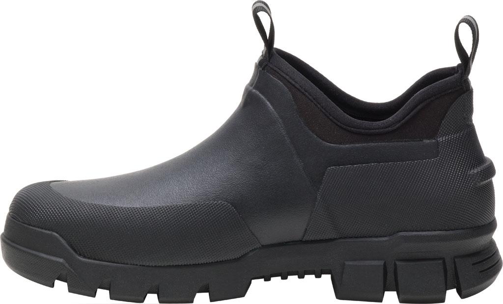 Caterpillar Stormers Waterproof Work Shoe, Black/Black Waterproof Vulcanized Rubber, large, image 3