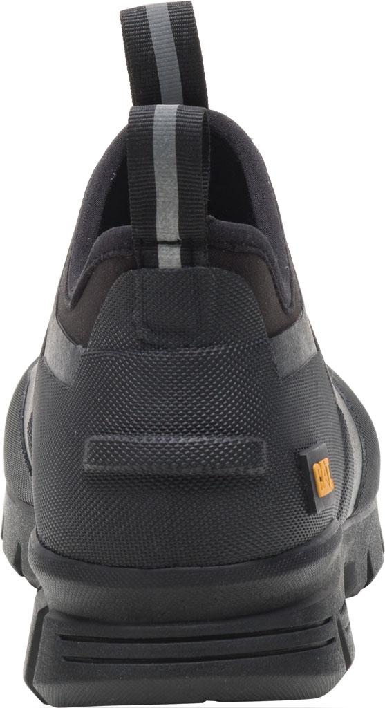 Caterpillar Stormers Waterproof Work Shoe, Black/Black Waterproof Vulcanized Rubber, large, image 4