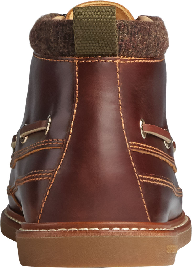 Men's Sperry Top-Sider Gold Cup Authentic Original Moc Toe Boot, Tan Full Grain Leather, large, image 4