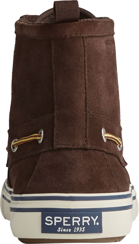 Men's Sperry Top-Sider Bahama Storm Waterproof High Top, Brown/Khaki Leather/Suede, large, image 4