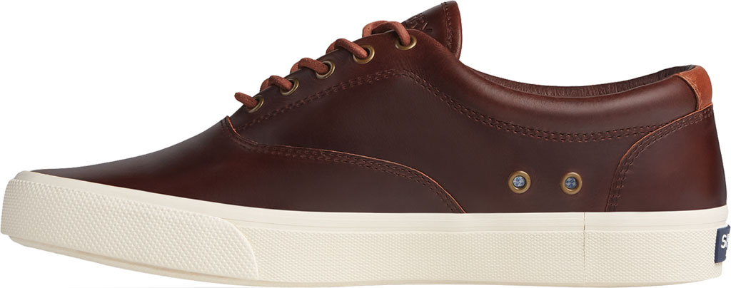 Men's Sperry Top-Sider Striper PLUSHWAVE CVO Sneaker, Dark Brown Full Grain Leather, large, image 3