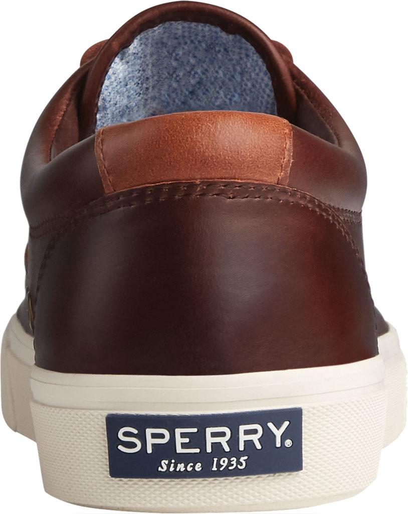 Men's Sperry Top-Sider Striper PLUSHWAVE CVO Sneaker, Dark Brown Full Grain Leather, large, image 4