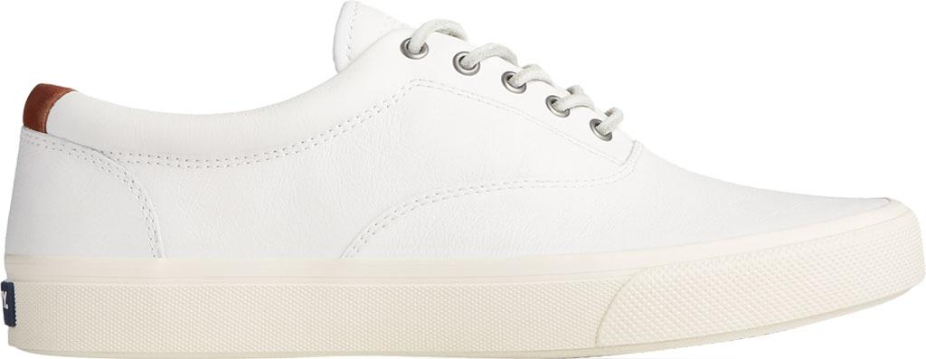 Men's Sperry Top-Sider Striper PLUSHWAVE CVO Sneaker, White Full Grain Leather, large, image 2