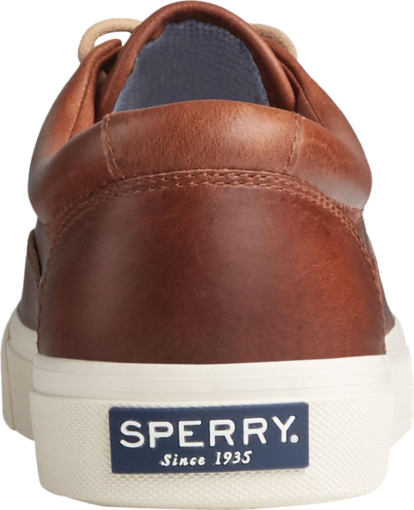 Men's Sperry Top-Sider Striper PLUSHWAVE CVO Sneaker, Dark Tan Full Grain Leather, large, image 4