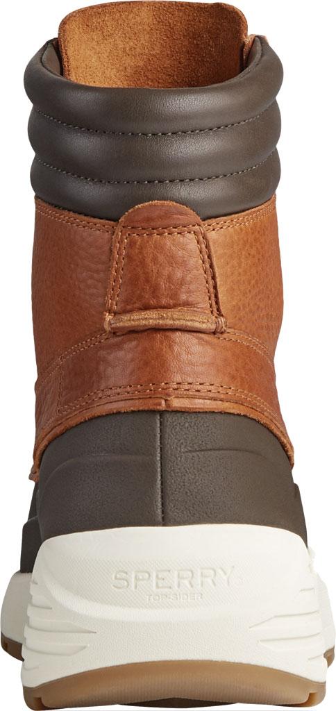 Men's Sperry Top-Sider Freeroam Hi Duck Boot, Dark Brown/Tan Leather, large, image 4