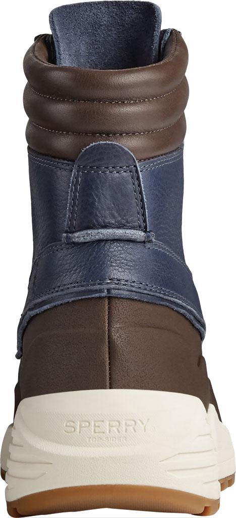 Men's Sperry Top-Sider Freeroam Hi Duck Boot, Dark Brown/Navy Leather, large, image 4