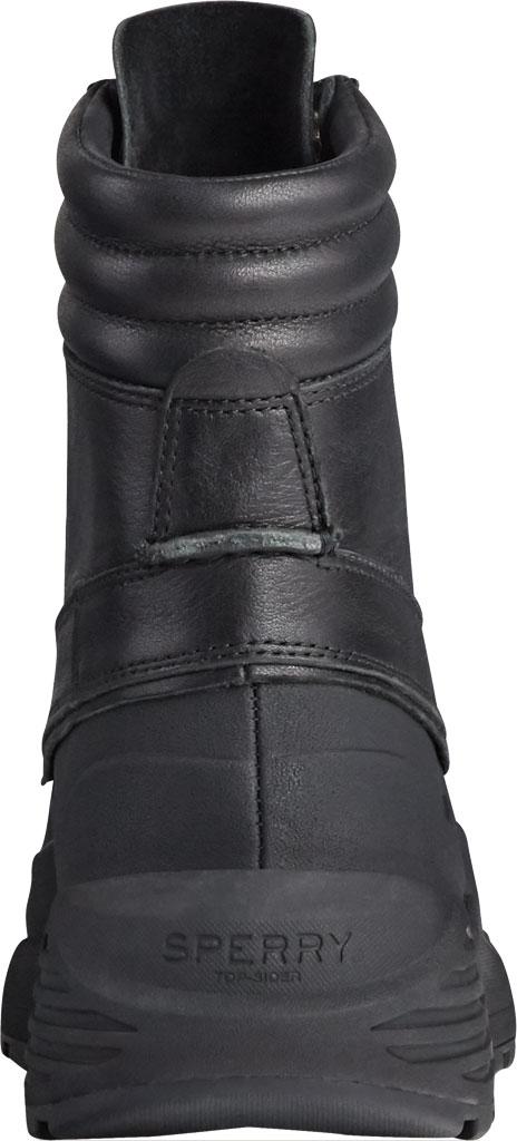Men's Sperry Top-Sider Freeroam Hi Duck Boot, Black Leather, large, image 3
