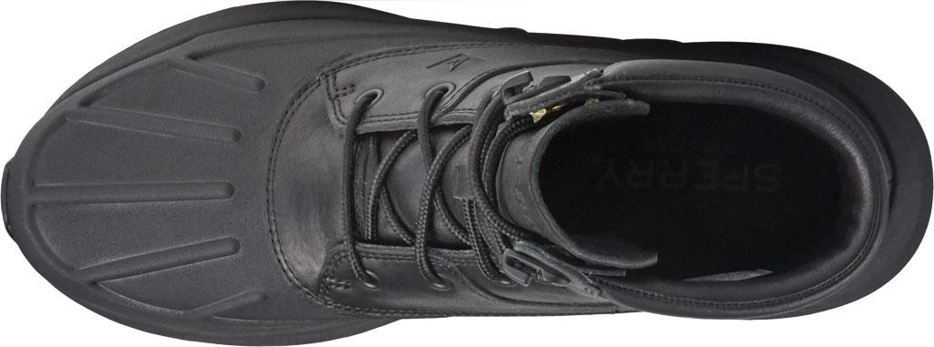 Men's Sperry Top-Sider Freeroam Hi Duck Boot, Black Leather, large, image 4