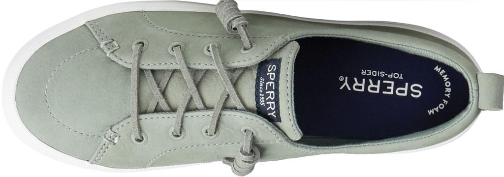 Women's Sperry Top-Sider Crest Vibe Platform Leather Sneaker, Sage Leather, large, image 5