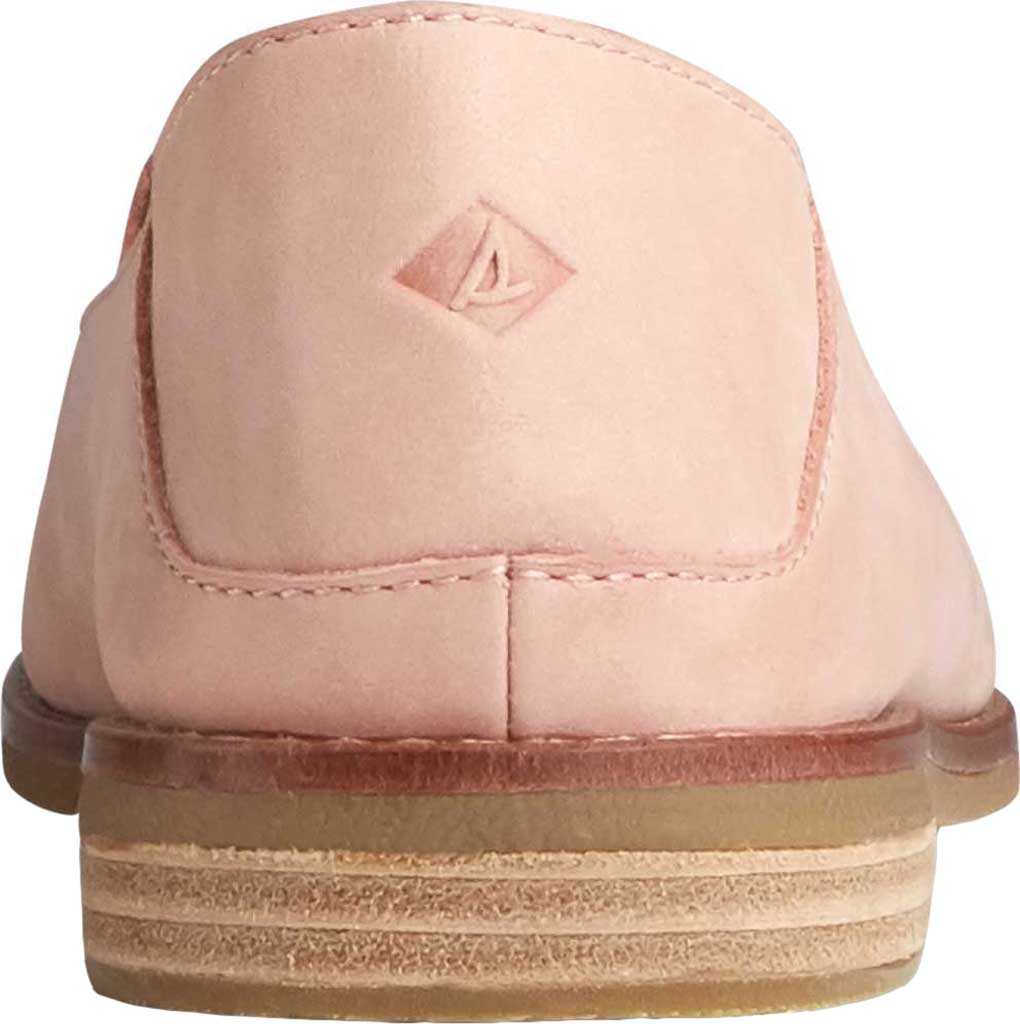Women's Sperry Top-Sider Seaport Levy Starlight Leather Loafer, Blush Leather, large, image 4