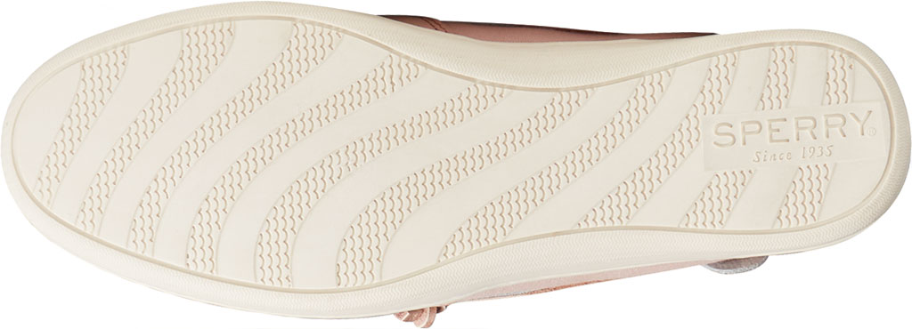 Women's Sperry Top-Sider Songfish Starlight Leather Boat Shoe, Blush Leather, large, image 6