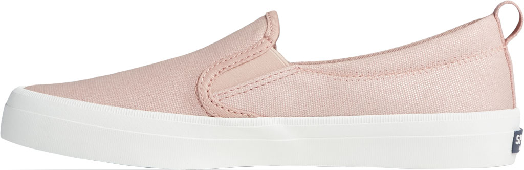 Women's Sperry Top-Sider Crest Twin Gore Sparkle Textile Slip On Sneaker, Blush Textile, large, image 3