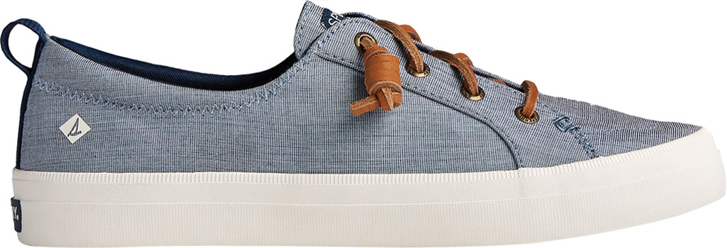 Women's Sperry Top-Sider Crest Vibe Two Tone Chambray Sneaker, Navy Canvas, large, image 2