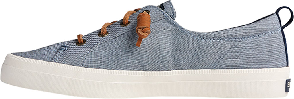 Women's Sperry Top-Sider Crest Vibe Two Tone Chambray Sneaker, Navy Canvas, large, image 3