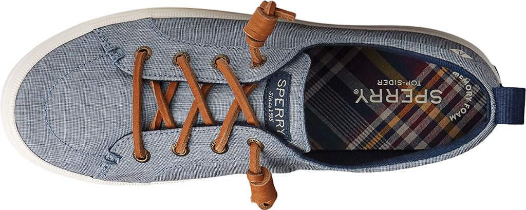 Women's Sperry Top-Sider Crest Vibe Two Tone Chambray Sneaker, Navy Canvas, large, image 5