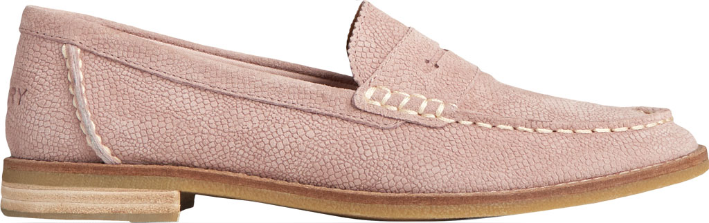 Women's Sperry Top-Sider Seaport Serpent Leather Penny Loafer, Blush Leather, large, image 2