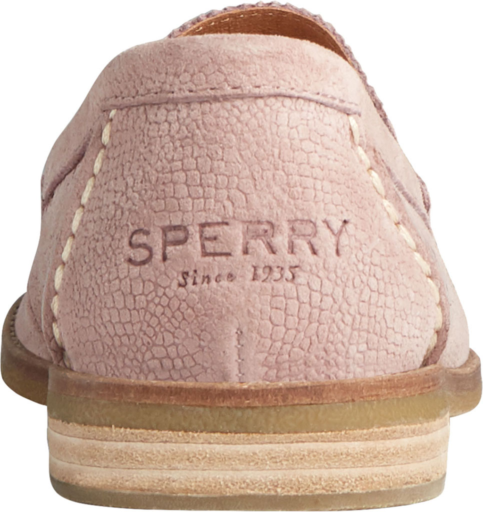 Women's Sperry Top-Sider Seaport Serpent Leather Penny Loafer, Blush Leather, large, image 4
